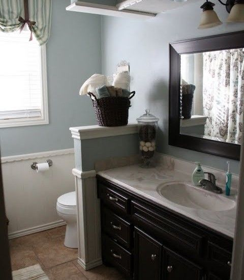 Bathroom Paint Colors, Privacy Walls And Bathroom On Pinterest