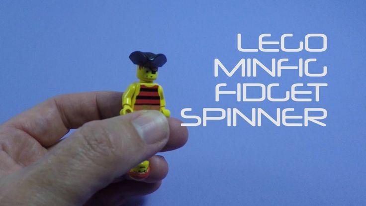 Easy LEGO Minifig Fidget Spinner - DIY Fidget Spinner
