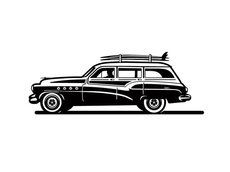 Surf Wagon by Amit Botre - Dribbble