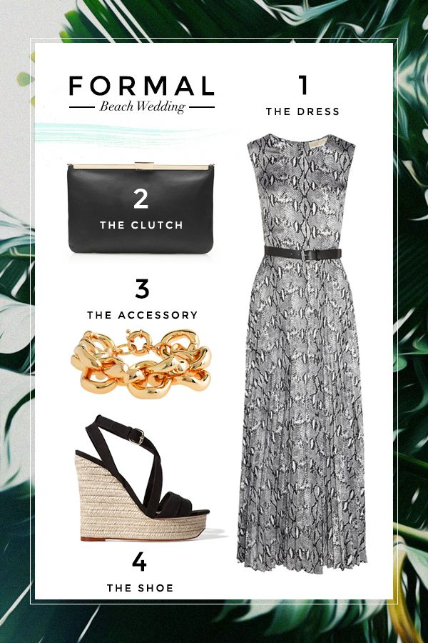 STYLE 101: What To Wear To a Beach Wedding