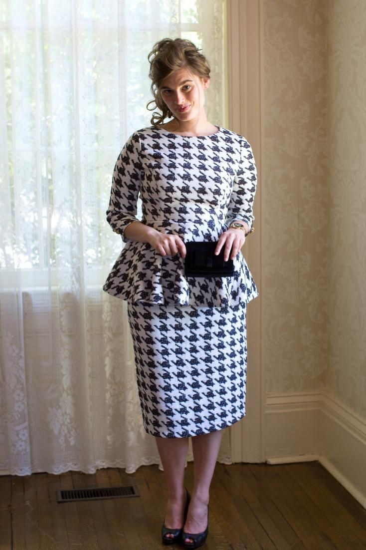 173 Best Images About Houndstooth On Pinterest