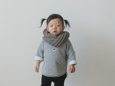 Infinity scarves for toddlers
