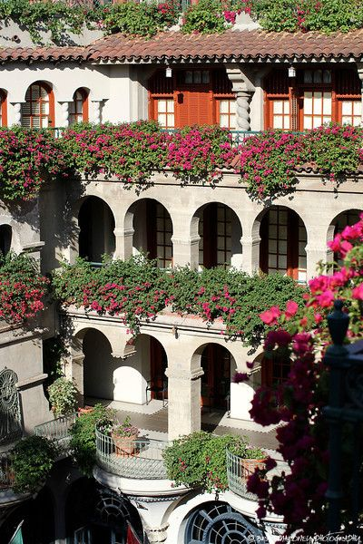 Mission Inn, Riverside CA.  My brother in law and sister in law took me here when we visited them.  It's beautiful!!!!