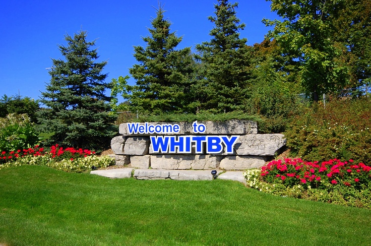 Welcome To Whitby Ontario