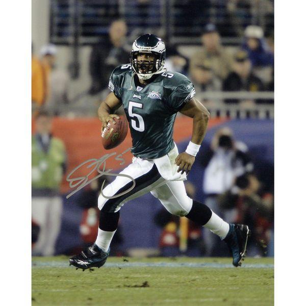 "Donovan McNabb Philadelphia Eagles Fanatics Authentic Autographed 8"" x 10"" Super Bowl XXXIX Running Photograph - $129.99"