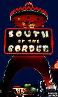 South Of The Border - Dillon, South Carolina.   Always a fun stop in the '60s (the halfway point) when making the very long road trip to Florida/Disney. @AmericourtPride