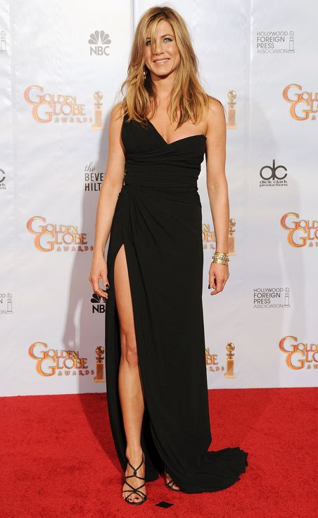 Jennifer Aniston's Life in LBDs | People - 2010 Golden Globes