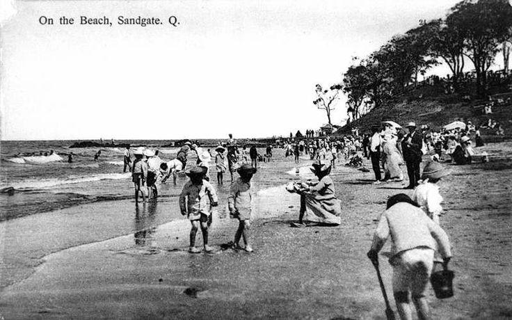 1910 Sandgate Beach