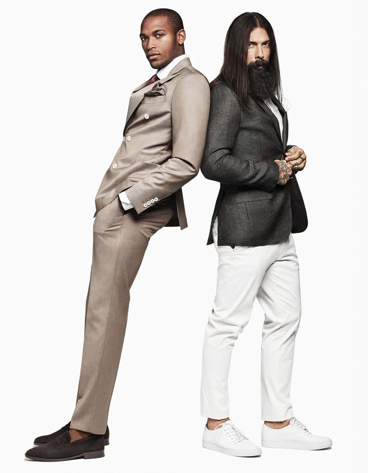 Skredderne våre legger opp bukser og jakker for Volt Fashion på Sirkus shopping.