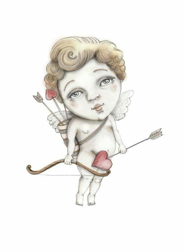 Cupido Digital illustration Cupid