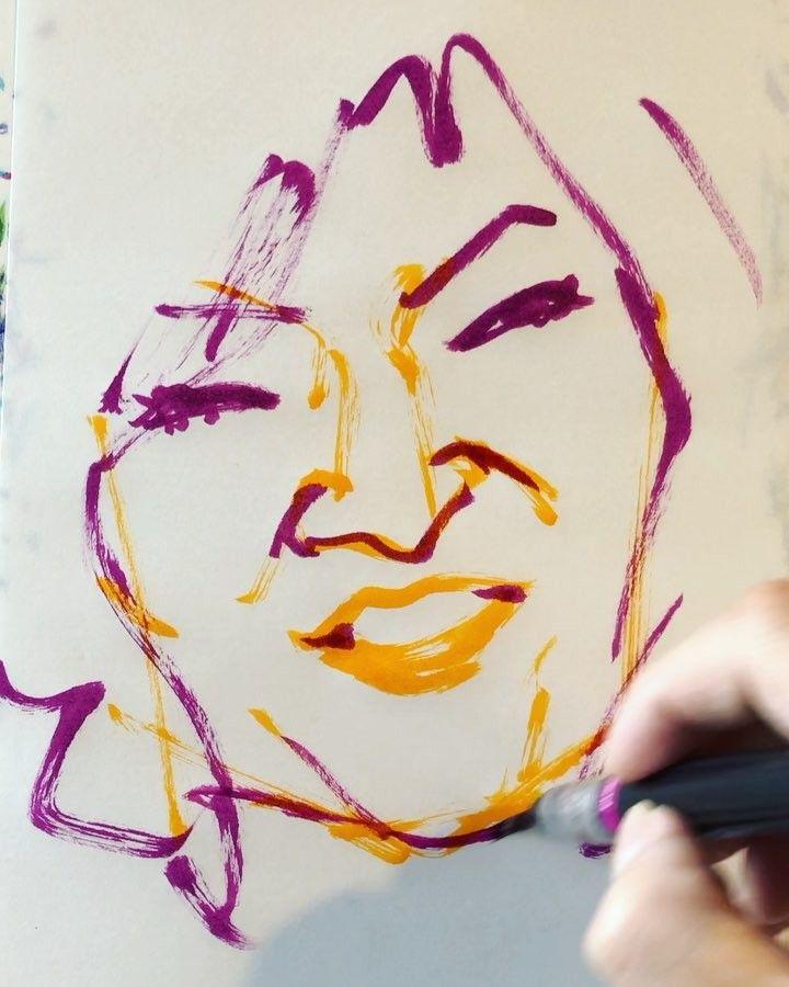 いいね!19件、コメント1件 ― torao fujimotoさん(@1mindraw)のInstagramアカウント: 「#shimizumichiko #清水ミチコ #comedienne #コメディエンヌ #actress #女優 #impressionist #モノマネ #矢野顕子 #松任谷由実…」