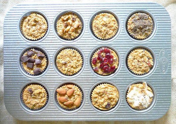Baked Muesli Cups Recipe - Evoke Healthy Foods
