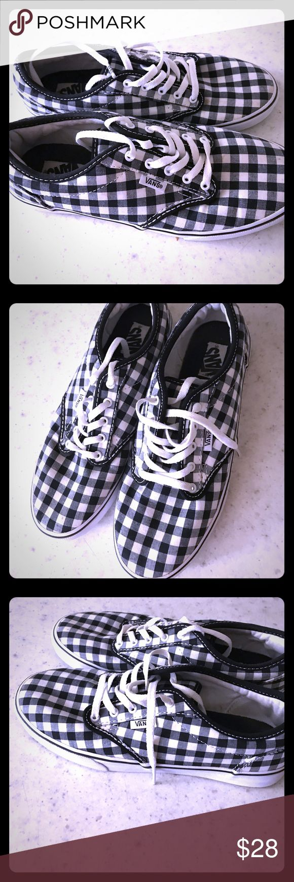 Vans Tennis Shoes Like new - Just worn once Vans Shoes Sneakers