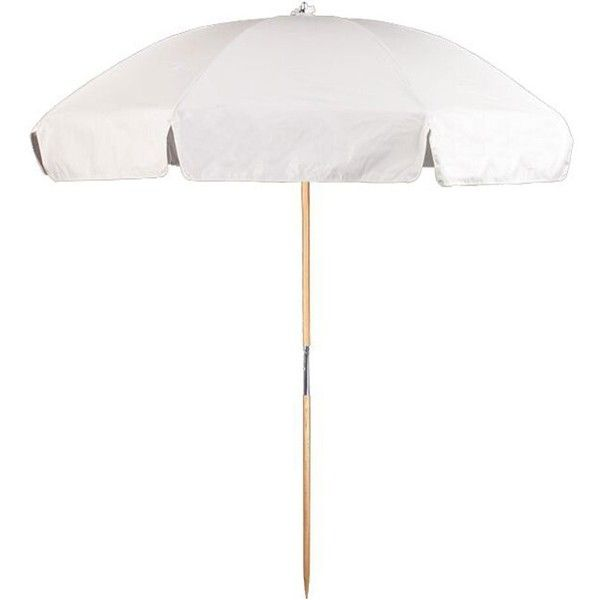 Steel Commercial Grade Vinyl Beach Umbrella With.
