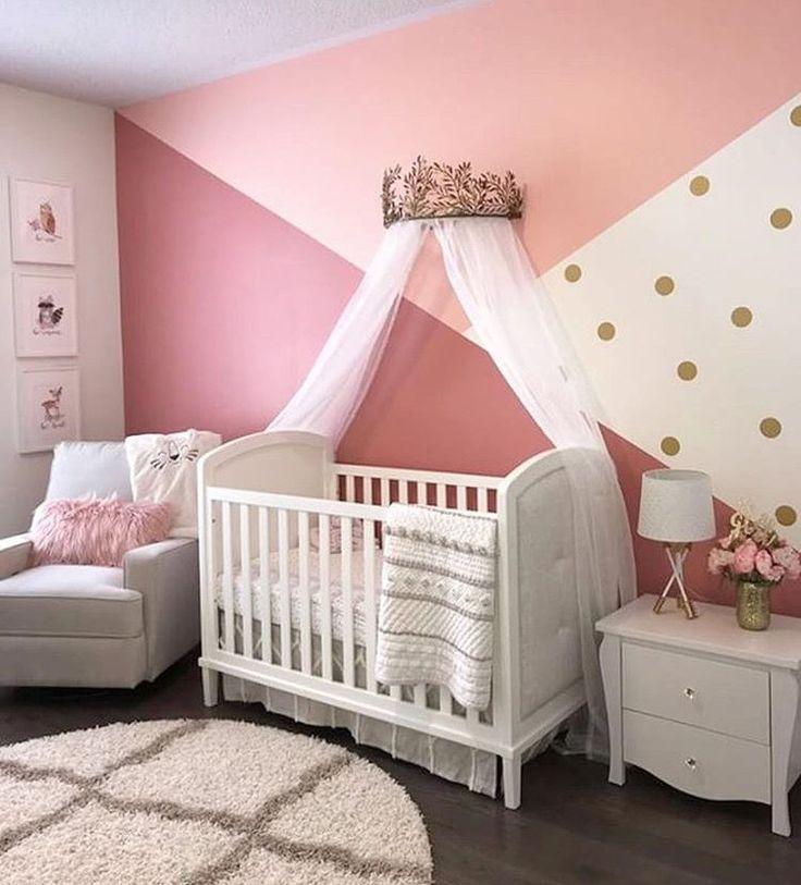 Pépinière de bébé jolie fille. | #Nursery #NurseryIdeas #NurseryDecor #NurseryOrganiza …   – Kinderzimmer