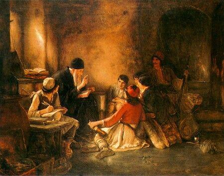 ΓΥΖΗΣ ΝΙΚΟΛΑΟΣ - Ζωγράφος της Σχολής Μονάχου / Nikolaos Gyzis - The SecretSchool(The monk's school)