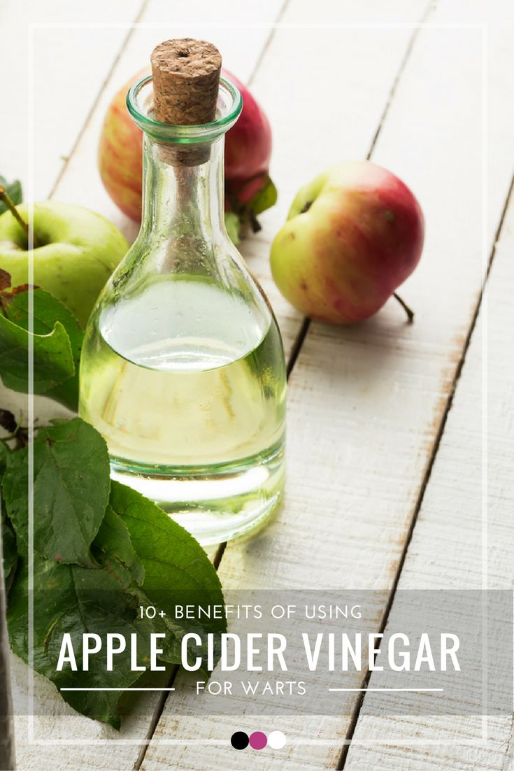 Discover the best ways to use apple cider vinegar for warts!