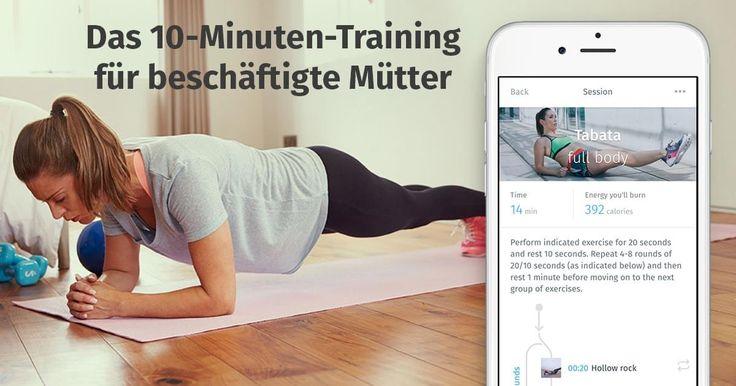 Dieses zehnminütige Training ist der absolute Hit unter jungen Müttern. Mache es überall, jederzeit und erreiche bessere Ergebnisse als in jedem Fitnessstudio.