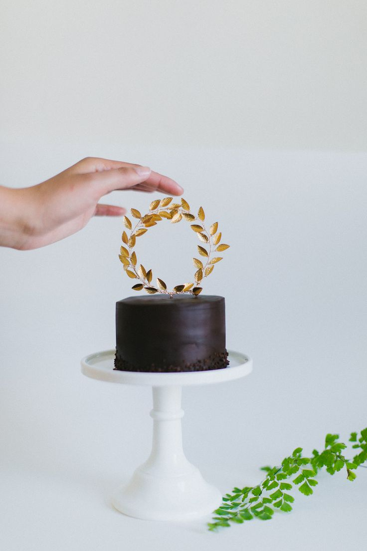 Modern cake toppers and accessories for the discerning bride.