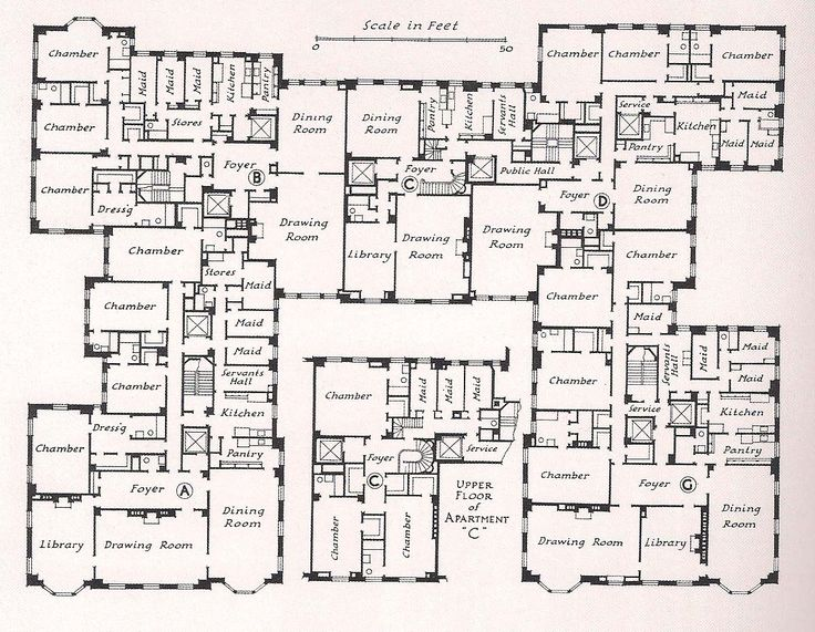 milton j. black floor plans | The Devoted Classicist: Kissingers at River House