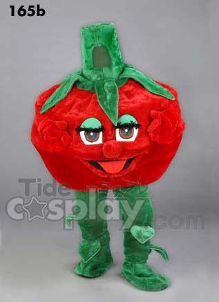New Tomato Mascot Costume $320.00 http://www.tidecosplay.com/cheap-New-Tomato-Mascot-Costume_p18390.html