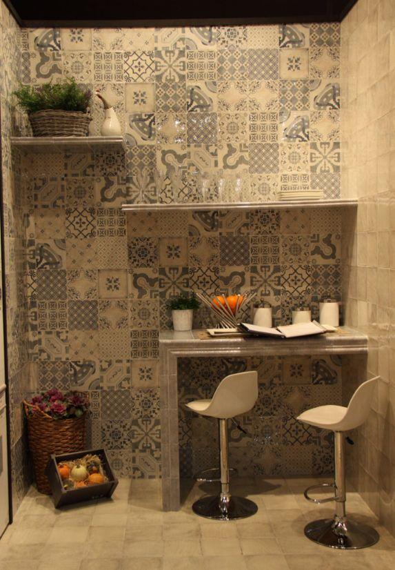 Parisian Chic Decor Mix Wall Tile 20x20cm These Ceramic