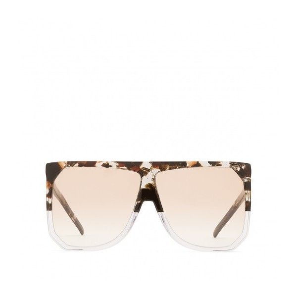 filipa sunglasses transparent 605 cad liked on