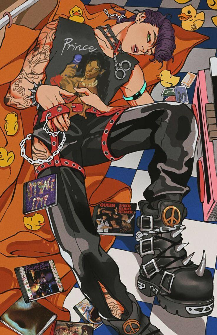 Épinglé par Hinazur sur Jojo Dessin animé japonais