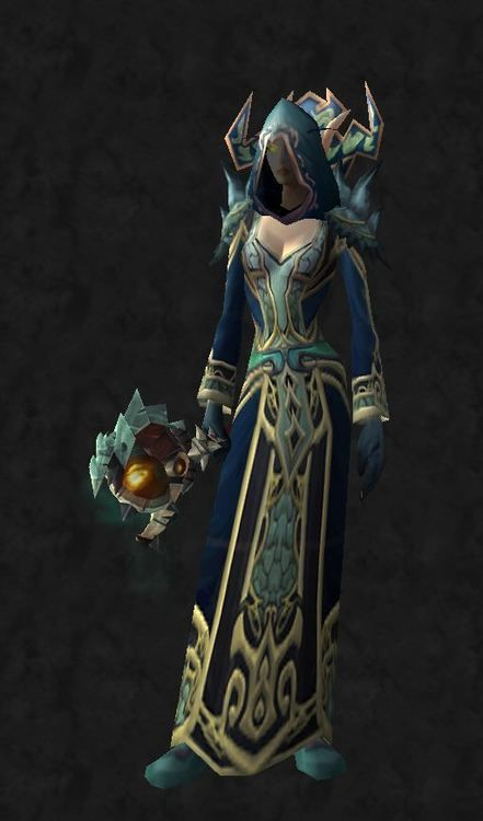 Ice Empress - Mage Only - HardHead: Replica Deathmist Mask (DMF)Shoulders: Enigma Shoulderpags (AQ Mage quest)Chest: Will of Edward the odd ...