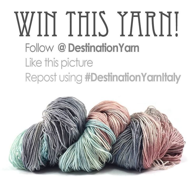 Its Italy Week at Destination Yarn!  Every colorway that I post this week will be inspired by the colors and places of Italy.  To celebrate I am giving away one skein of Amalfi Coast on my Letter base  100% superwash merino in a fingering weight.  Open to international followers!  To enter:  1.) Follow @DestinationYarn  2.) Like this post  3.) Repost this picture using the hashtag #DestinationYarnItaly  For additional entries tag up to 3 people in the comments below.  I will draw a winner…