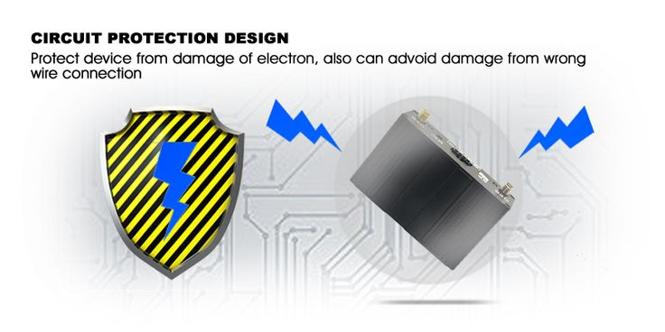 Protect device from damage of electrion