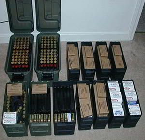 If and when the SHTF you won't have time to buy ammunition. In 2012 in the face of pending gun control ammunition dried up for over a year. Imagine if