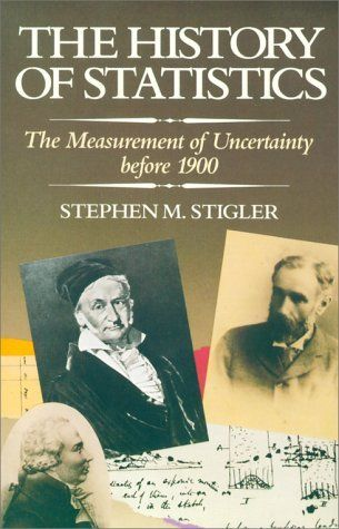 Stigler's History of Statistics is very enjoyable and walks you through the painful, groping arguments of Bernoulli, DeMoivre, Gauss, Laplace, etc as they sketched out the foundations of statistics.  I especially enjoy walking through a real problem as it was originally solved.  Sure you can get to the Law of Large Numbers in a handful of steps from Chebyshev's inequality, but it's so much more instructive to see how Bernoulli attacked the problem (unsuccessfully!).