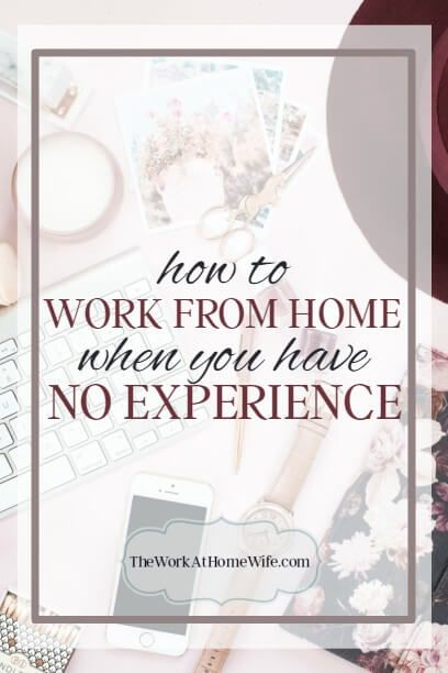 Are you struggling to work from home because you have no experience working remotely. Here's hope!