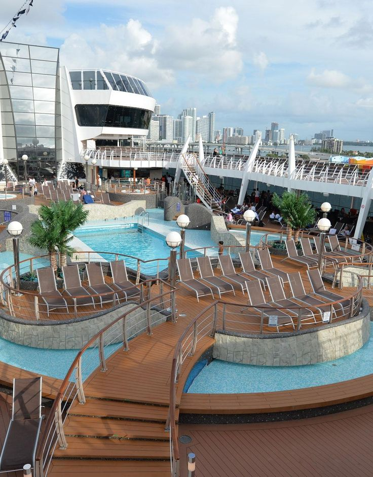 MSC Divina: sip yummy #cocktails or work on your tan on this #honeymoon #cruise