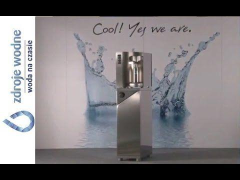 Zdrój chłodzonej wody pitnej, stołowy, Wave