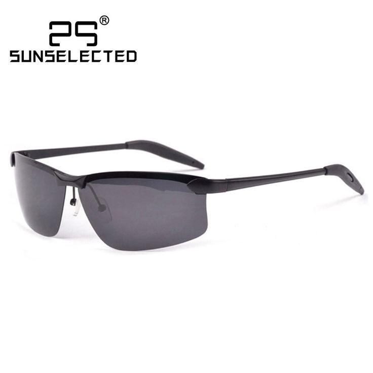 $7.17 (Buy here: https://alitems.com/g/1e8d114494ebda23ff8b16525dc3e8/?i=5&ulp=https%3A%2F%2Fwww.aliexpress.com%2Fitem%2FNew-2015-Classic-Retro-Mens-Sunglasses-Polarized-Brand-Designer-Sports-Polaroid-Sun-Glasses-Rimless-Metal-Gafas%2F32396314574.html ) Rimless Metal Men Sunglasses Polarized  Classic Retro New 2016 Brand Designer Sports Sun Glasses  Gafas ciclismo 3192 for just $7.17