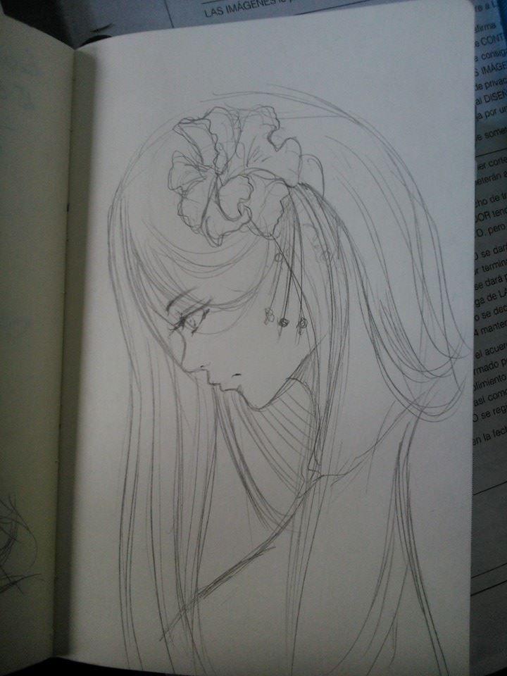 Boceto en clases. by BessiEli.deviantart.com on @DeviantArt