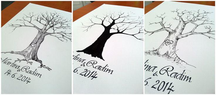 Svatební strom wedding tree