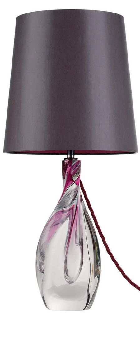 36 best Glass Table Lamps images on Pinterest Glass table lamps - glass table lamps for living room