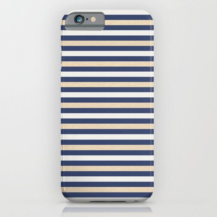 Royal Classic Stripes iPhone & iPod Case by JumperCat   Society6