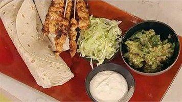 Try this Hot Chilli Chicken Fajitas recipe by Chef Antony Worrall Thompson.