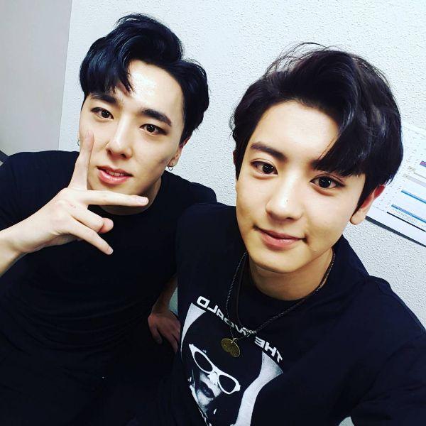 Chanyeol & Kasper (Kim Tae Woo)