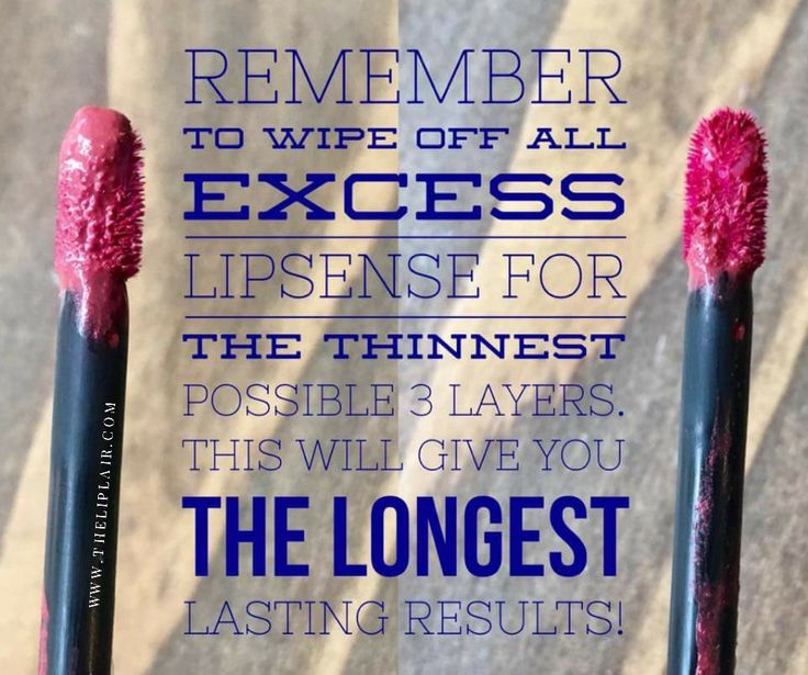 Thin layers work best with lipsense application! For more tips and tricks join my Facebook VIP group!