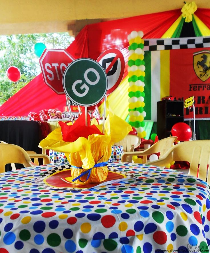 64 best Ferrari Birthday Party images on Pinterest ...