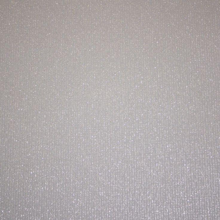White Glitter Dulce Paillette Silver Sparkle Wallpaper BOA-017-01-4: Amazon.co.uk: Kitchen & Home £12,99