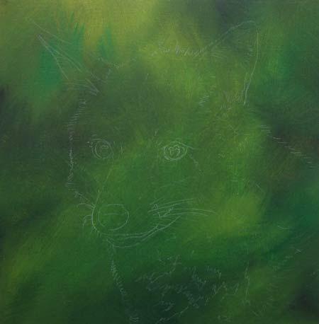 Dipingere una volpe ad acrilico - Disegno