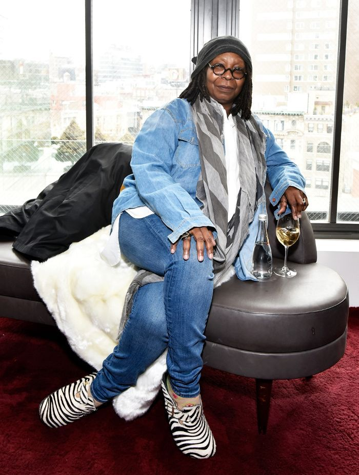 1ec84258d37 Whoopi Goldberg and her zebra Crocs stole the front-row show during NYFW