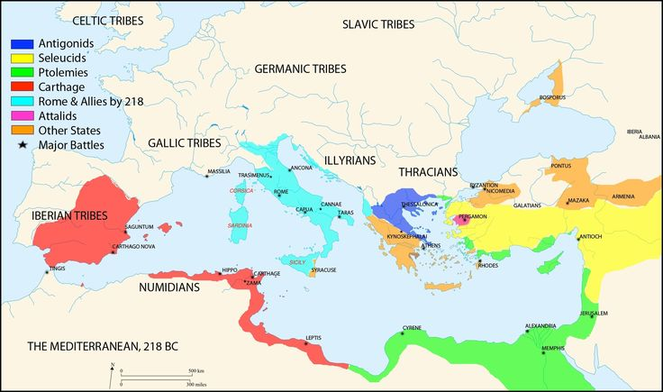 The Mediterranean and its surrounds, circa 218 BC. Mystery of History Volume 1, Lesson 91 #MOHI91