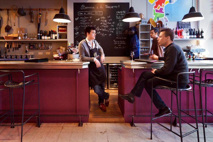 La Trinquette, a wine bar in Paris
